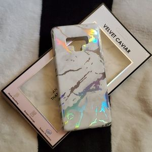 Nwt Velvet caviar holo galaxy note9 phone case